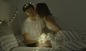 Thái Trinh hôn Quang Đăng ngọt lịm trong MV ngôn tình
