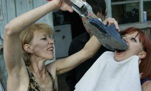Những hình ảnh cười 'mỏi miệng' chỉ có ở nước Nga