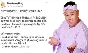 Minh Béo gây tranh cãi khi đăng tin chiêu sinh diễn viên trẻ