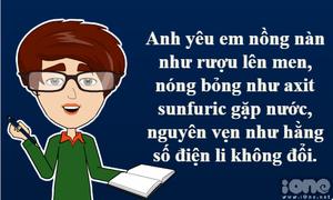 Truyện tranh hài hước: Bạn trai tôi học khoa Tự nhiên