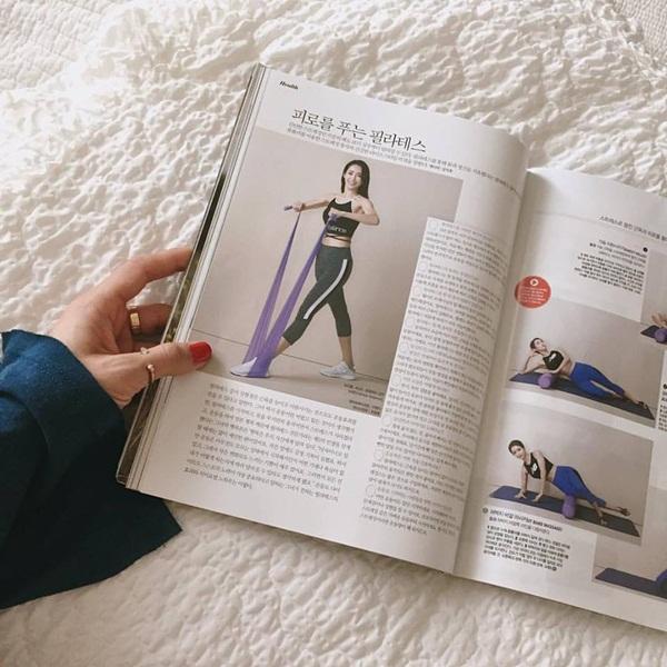 Nữ huấn luyện viên từng xuất hiện trên các tạp chí dành cho phái đẹp xứ Hàn.