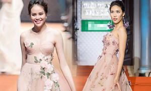 Sella Trương, Lan Khuê đọ sắc với váy xinh như công chúa