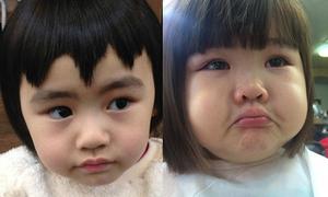 4 cô nhóc chỉ cắt tóc thôi cũng khiến mạng xã hội xôn xao