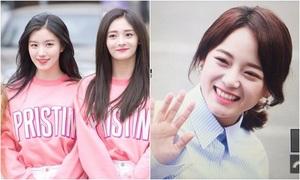 Dàn mỹ nhân của 'Produce 101' đọ sắc khi đến Music Bank