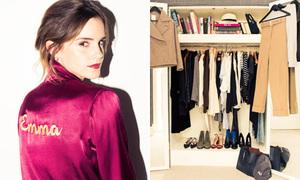 Tủ quần áo đẹp long lanh của Emma Watson
