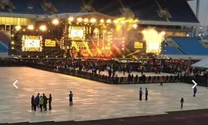 Đêm nhạc quy tụ sao Kpop tại Hà Nội bất ngờ vắng khán giả