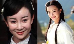 'Ngọc nữ' Trung Quốc nhiều lần lộ mặt cứng đơ