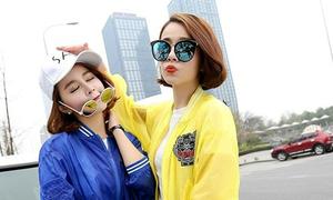Cặp chị em sành điệu được ví như 'Kardashian của Trung Quốc'