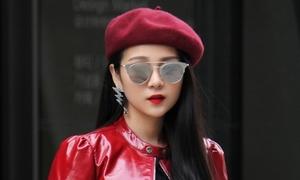 Tam Triều Dâng bị nhầm là gái Hàn tại Seoul Fashion Week 2017