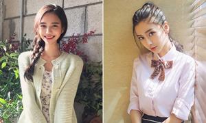 Mẫu Hàn muốn sửa mặt như Angelababy, kết quả giống Yoon Ah