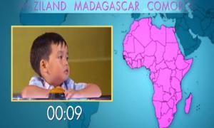 'Thần đồng' 4 tuổi biết tên tất cả quốc gia trên thế giới