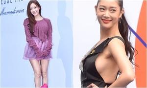 Dàn sao Hàn hào hứng khoe chân, hở bạo ở Seoul Fashion Week