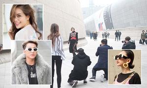 Dàn sao Việt được săn đón khi 'chào sân' ở Seoul Fashion Week