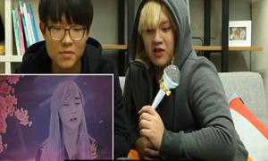 Phản ứng của người Hàn Quốc khi xem MV Lạc trôi