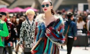 Hoa hậu Sella Trương mang đầy ắp trang phục và ekip 'xịn' sang Seoul