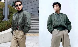 Bộ đồ 'mượn bố' của Sơn Tùng được Châu Tinh Trì mặc từ 20 năm trước