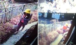 Tìm thấy còi báo động cá nhân của bé gái Việt, cách thi thể 20 km