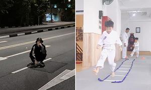 Sao Việt 31/3: Subeo học tự vệ kiểu Nhật, B Trần ngồi giữa đường chụp ảnh
