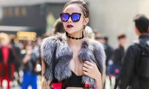 Hoa hậu Sella Trương chỉ dùng hàng Việt tại Seoul Fashion Week