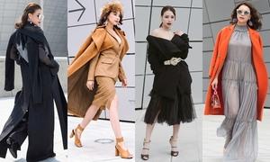 4 bộ cánh ấn tượng của Trà Ngọc Hằng tại tuần lễ thời trang Hàn
