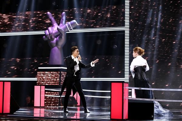 Giọng ca phi giới tính đến từ team Thu Minh hứa hẹn có phần trình diễn thu hút.