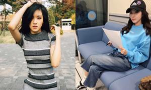 Sao Hàn 3/4: Dara khoe style 'ăn gian' tuổi, Rosé eo thon hút mắt