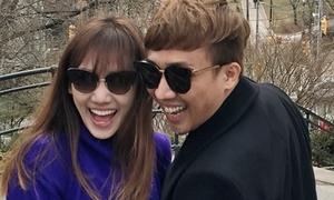 Trấn Thành - Hari Won đi nghỉ dưỡng sau thời gian hì hục chạy show