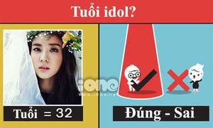 Quiz: Đọ hiểu biết tuổi của idol