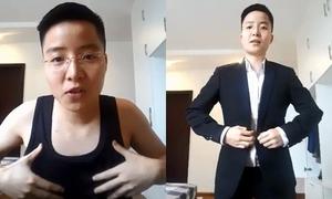 Tú Lơ Khơ chia sẻ bí kíp nẹp ngực, chọn quần áo cho người chuyển giới nam