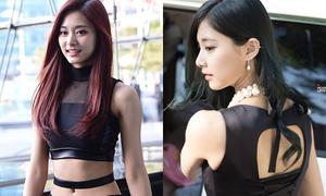 Tzuyu là idol nữ có lưng đẹp nhất Kpop