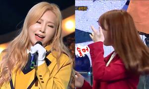 Minzy khiến đồng nghiệp rơi nước mắt khi khoe giọng hát