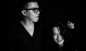 Hoàng Touliver 'song kiếm hợp bích' với Tiên Tiên qua bản EDM bắt tai