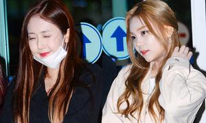 G-Friend mặt phấn trắng bệch, Jessica hút ánh nhìn ở sân bay