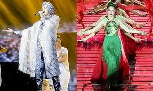 S.T vươn lên dẫn đầu 'The Remix', Hương Giang ngậm ngùi rời cuộc chơi