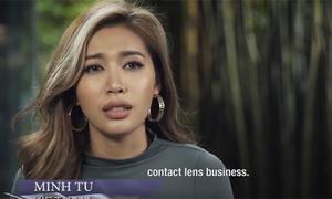 Minh Tú ghi điểm khi trả lời phỏng vấn ở Asia's Next Top Model