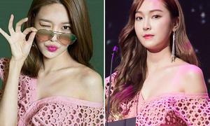 Váy sang chảnh của Jessica đụng hàng loạt mỹ nhân