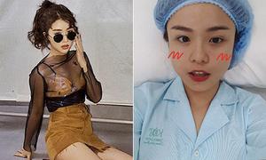 Sao Việt 12/4: Quỳnh Anh Shyn sexy sau scandal, Thái Trinh công khai dao kéo