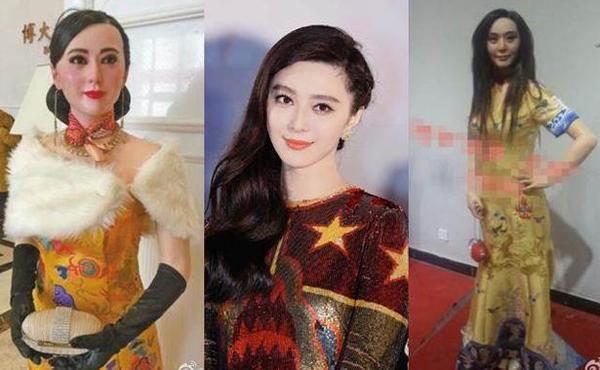 Cách đây không lâu, Phạm Băng Băng livestream kêu khổ vì hình ảnh cô bị nhiều   nơi làm tượng sáp mà không được sự đồng ý. Những bức tượng sáp xấu xí khiến   nữ diễn viên cảm thấy bị tổn thương sâu sắc.