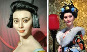 Những tượng sáp 'xấu không tưởng' của sao Hoa ngữ