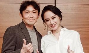 Angela Phương Trinh sang Hàn gặp đạo diễn 'She was Pretty'