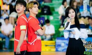 Đại hội thể thao là nơi các idol Kpop 'thả thính' nhau nhiều nhất