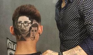 Chàng trai xứ Nghệ cắt tỉa tóc hình diễn viên 'Sống chung với mẹ chồng'
