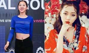 Nhan sắc đời thực không photoshop của dàn hot girl thi VNTM