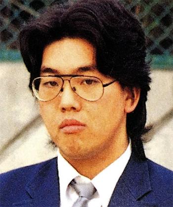 Nghi phạm Shibuya Yasumasa hồi trung học.