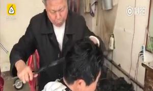 Uốn tóc bằng kìm rèn nóng rực