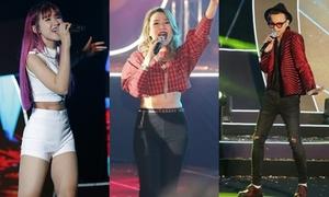 Dàn sao Việt đình đám 'đốt cháy' đêm nhạc 20.000 khán giả