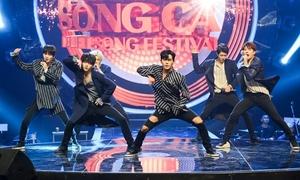 Infinite hút hồn fan Việt bằng loạt hit khoe vũ đạo