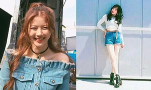 Sao Hàn 24/4: Kim Yoo Jung hở vai trần quyến rũ, Na Yeon khoe dáng nuột