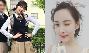 Sao Hàn 25/4: Seo Hyun da trắng sứ, Joy chống nạnh 'đầu gấu'