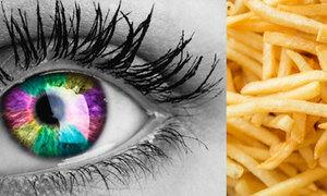 Tinh mắt soi đồ ăn ẩn trong hình